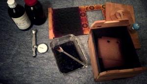 fuming box